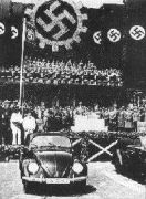 1938: inauguration of the factory in Wolfsburg